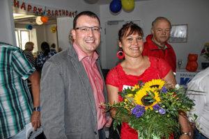 Ronny Wähner (MdL) zu Gast bei VdK Annaberg, der 2016 sein 25-jähriges Jubiläum feierte.