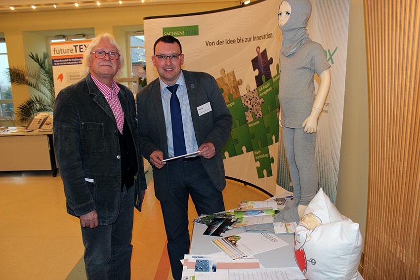 Branchentag für die Textil- und Bekleidungsindustrie in Annaberg-Buchholz.