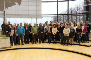 Besuchergruppe aus dem Wahlkreis im Sächsischen Landtag.