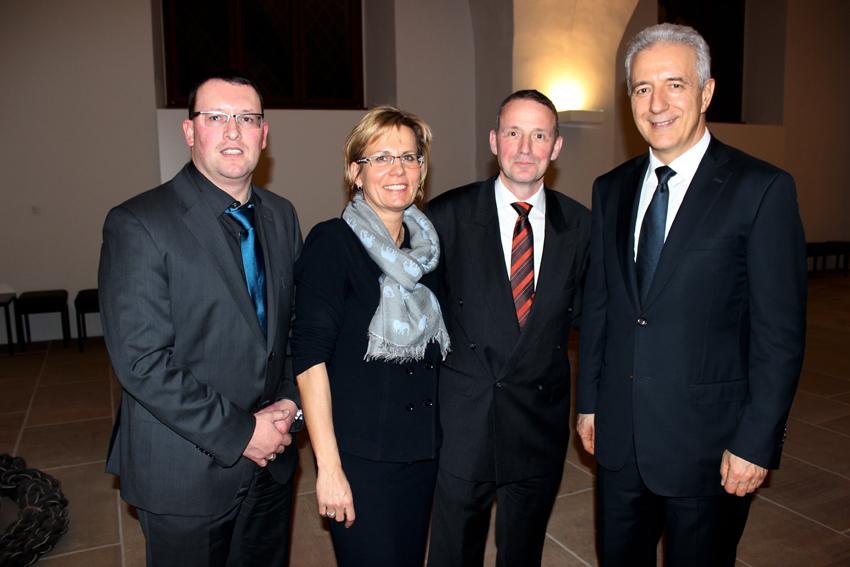 MdL Ronny Wähner auf dem Neujahrsempfang des Ministerpräsidenten 2015 in Dresden.