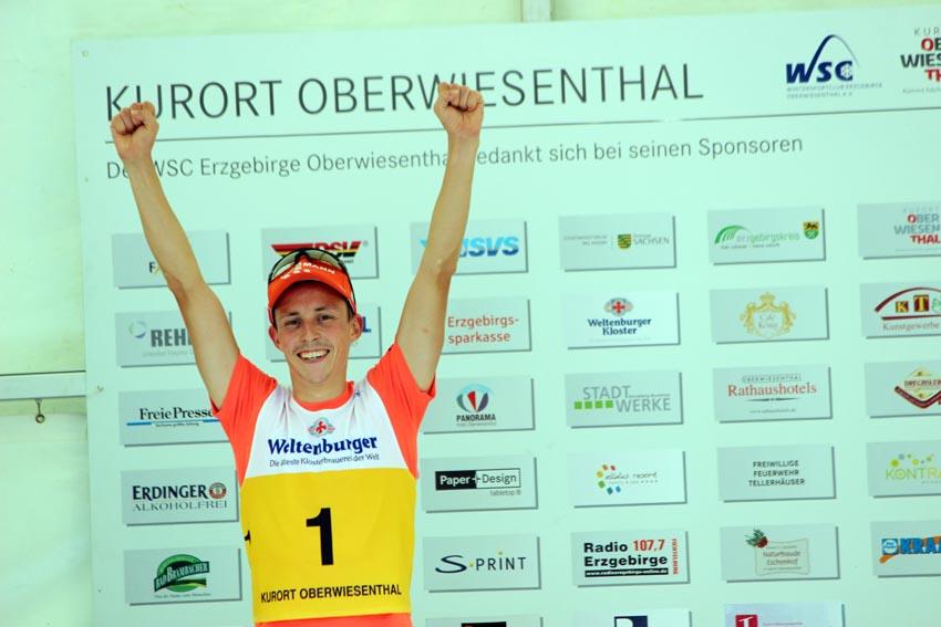 Sommer-Grand-Prix der Nordischen Kombination 2015 in Oberwiesenthal.