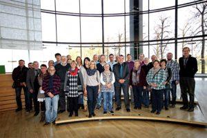 Besuchergruppe aus dem Wahlkreis im Landtag zu Gast.
