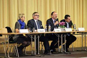Kreisparteitag am 6. November in Burkhardtsdorf.