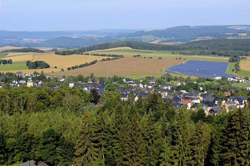 Blick vom Scheibenberg.