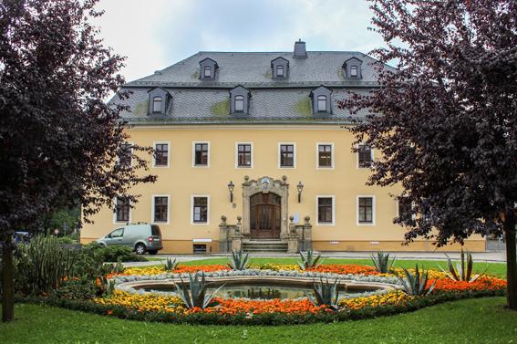 Rathaus in Thum.
