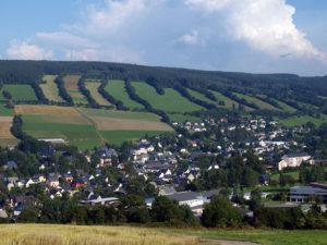 Blick auf Königswalde.