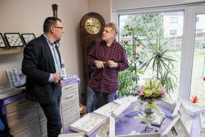 Am 22. März war Ronny Wähner bei Uhrmachermeister Uwe Schreiter in Mildenau zu Gast.