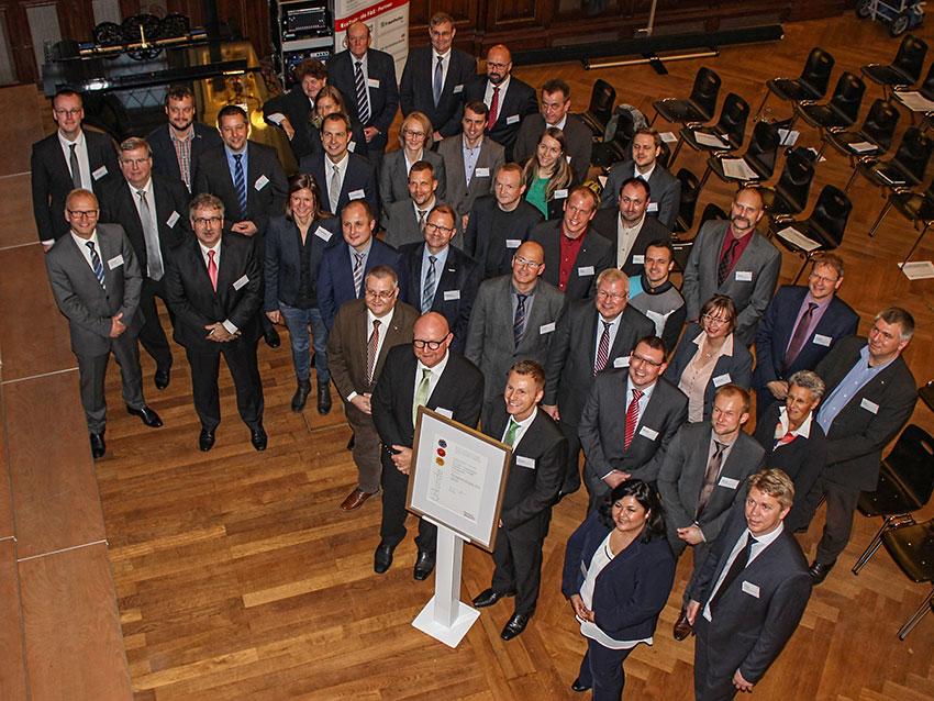 """Hohe Auszeichnung für das """"ECO-Train"""" Projekt der Erzgebirgsbahn."""