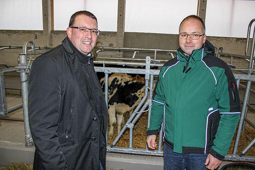 Tag der offenen Stalltür bei der Agrargenossenschaft e.G. Königswalde.