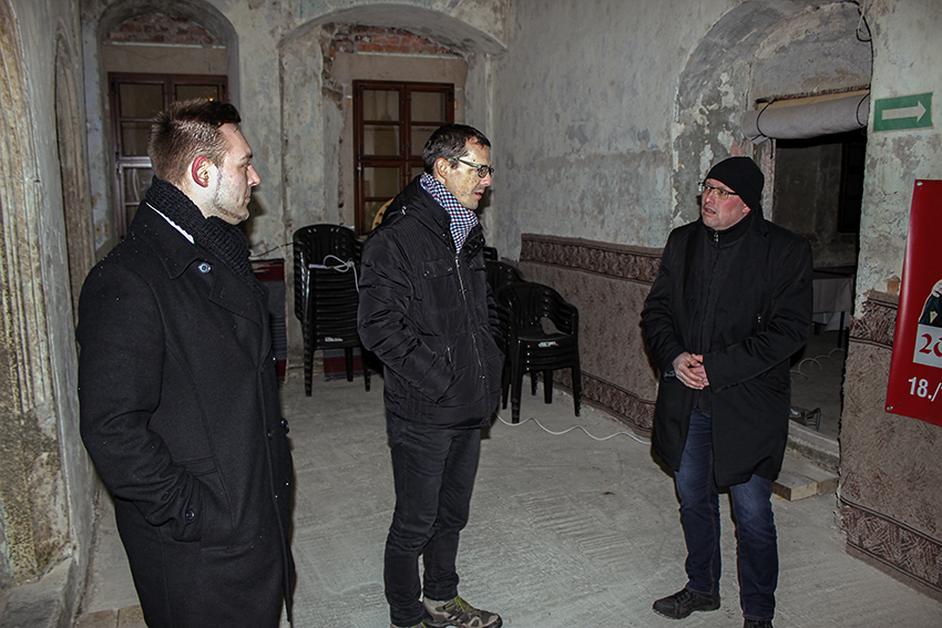 Ronny Wähner besichtigte den Lotterhof in Geyer.