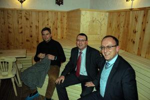 In Begleitung des heimischen Wahlkreisabgeordneten des Sächsischen Landtages Ronny Wähner und Landrat Frank Vogel, besuchte Sachsens Wirtschafts- und Arbeitsminister, Martin Dulig den Kurort Oberwiesenthal.