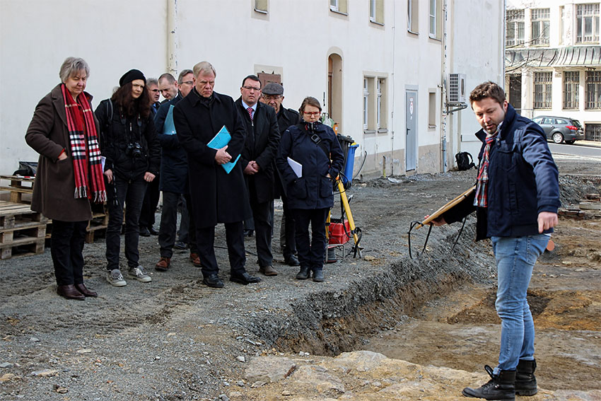 Finanzminister Prof. Dr. Georg Unland am 13. März 2017 in Annaberg-Buchholz.
