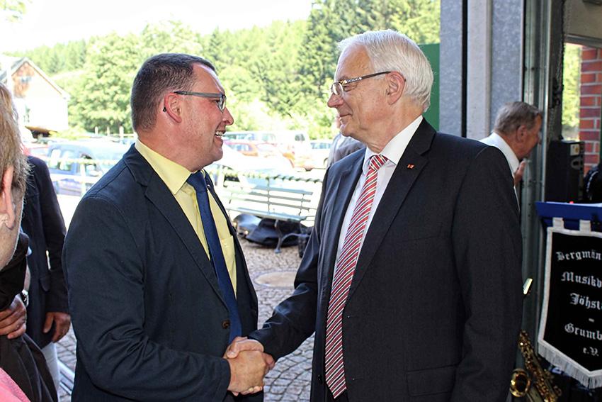 70. Geburtstag von MdB Günter Baumann.