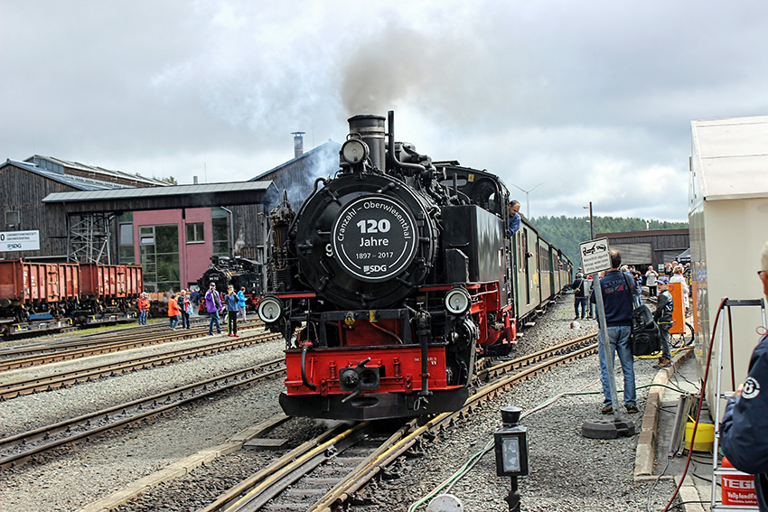 120 Jahre Fichtelbergbahn.