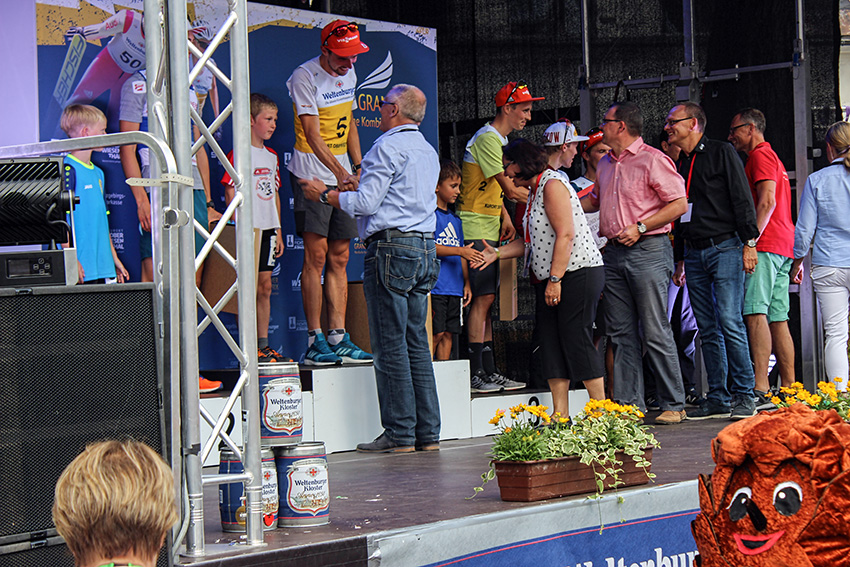 Sommer-Grand-Prix 2018 in Oberwiesenthal.