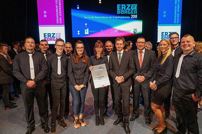 """Verleihung des """"ERZgeBÜRGER"""" in Aue."""