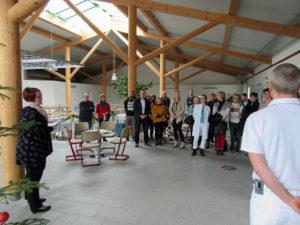 Ausstellungseröffung in Thermalbad Wiesenbad.