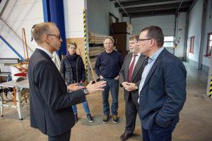 Besuch bei BÜSCH Technology in Geyer.