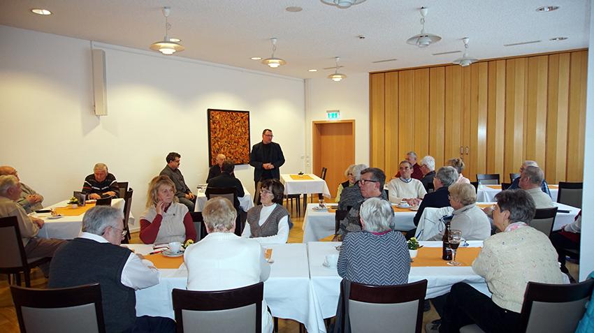 Ronny Wähner und Sylvio Krause zu Gast bei der Senioren Union in Annaberg-Buchholz.