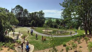 Der neue Spielplatz in Königswalde.