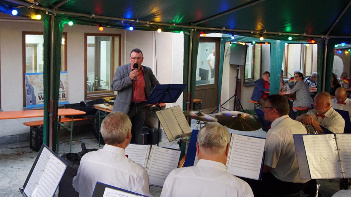 Veranstaltung bei Steinmetz Wagler in Mildenau.